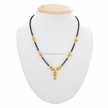 Bella Placcato Oro <span class=keywords><strong>Mangalsutra</strong></span> per Le Donne