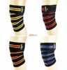 PREMIUM QUALITY KNEE WRAPS STRAPS POWER BODY BUILDING GYM WEIGHT LIFTING