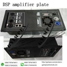 YEB11 1 in 2 out DSP Class D speaker power amplifier module for pa speaker , Column speaker and line array loudspeaker
