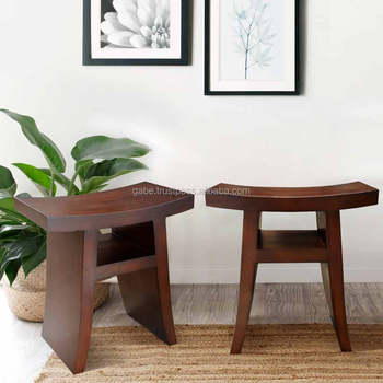 Stool Oriental Anese Mahogany Wood Furniture Solid