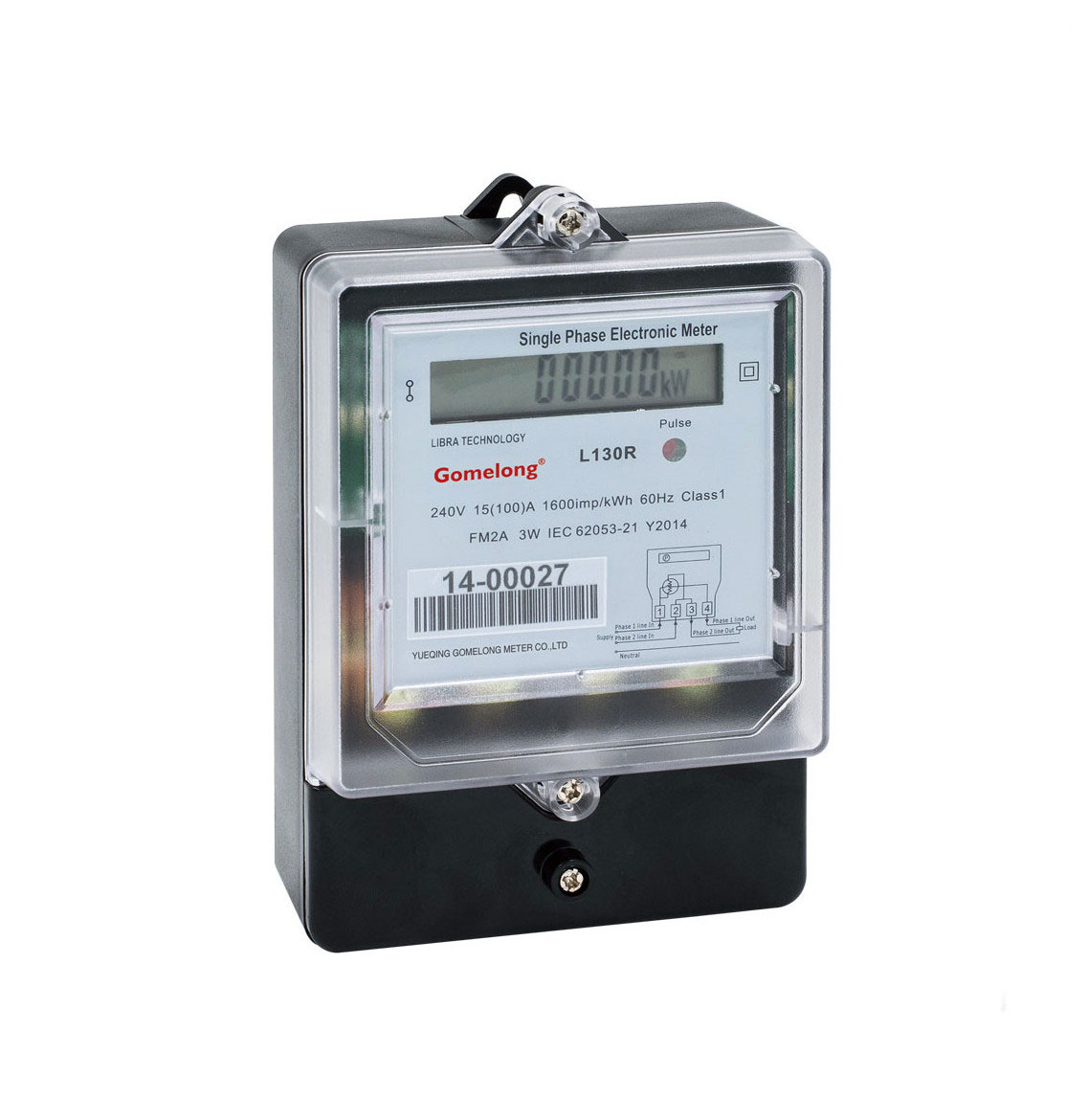 Factory Direct Sale Dds5558 Single Phase Three Wire Analog Power ...