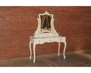 Antique Reproduction Furniture - French Dressing Table Indonesia Furniture