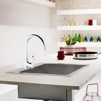 S C A Diamond Swan Single Handle Kitchen Faucet - Buy Kitchen  Faucet,Kitchen Faucets,Faucet Product on Alibaba.com