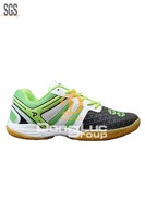 Wholesale cheapest man shoe model 2017, update new arrival badminton shoes, strong sports shoe
