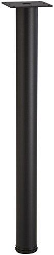 """34 1/2"""" Table Legs by Hafele Set of 4, Steel, Black"""