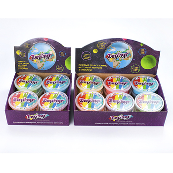 Playdough toy, Zephyr play dough in show box, 12 units