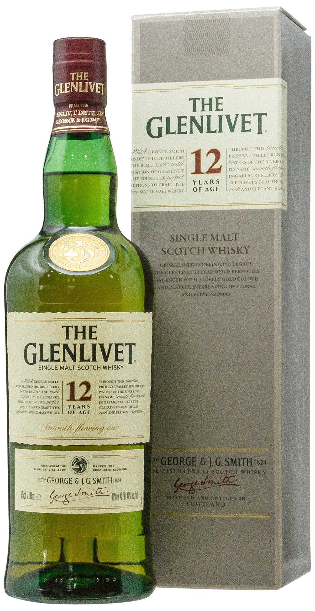 88072738f10 The Glenlivet Scotch Whisky 12 Year