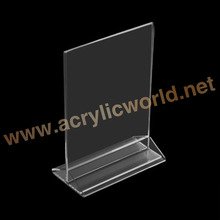T vorm acryl tafelblad <span class=keywords><strong>menu</strong></span> display stand a4
