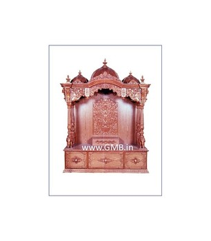 Wooden Temple For Home From Teak Wood Gmb Idols And Temples Buy Wooden Temple Wooden Mandir Hindu Pooja Mandir Product On Alibaba Com