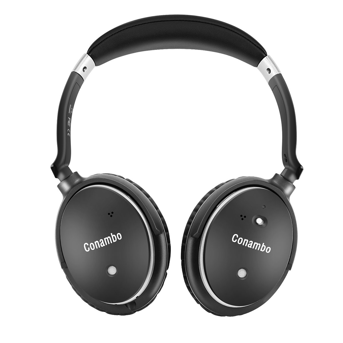 e3bc8c5060d Get Quotations · Active Noise Cancelling Bluetooth Headphones, Conambo  Foldable HiFi-Stereo Wireless Headphones Over-Ear