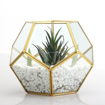 Home Garden Wholesale Decorating Ideas Glass Container Geometric
