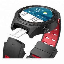 Best seller 2018 Nuovo Build-in GPS <span class=keywords><strong>di</strong></span> Sport Intelligente Orologio con Bussola, Barometro, supporto Sim Card Per IOS Android Phone, <span class=keywords><strong>Bluetooth</strong></span> 4.0