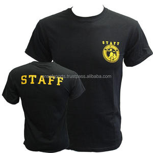 Custom company staff 100% cotton uniform polo shirt
