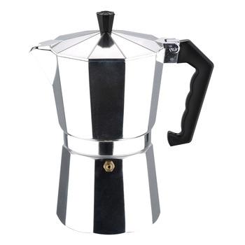 Black Italian Coffee Maker Machine 9 Cups Spanish Espresso