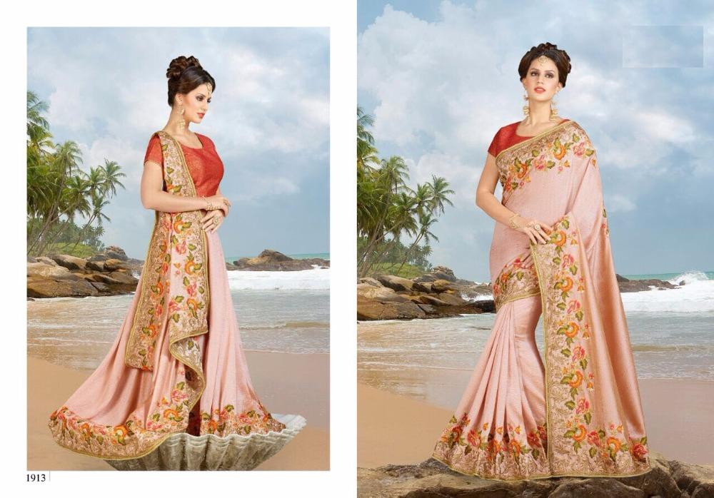 5c6afc693f70bb Saree / Bridal saree blouses designs / Hand work design stone saree / Hand  work saree blouse designs / Dulhan saree