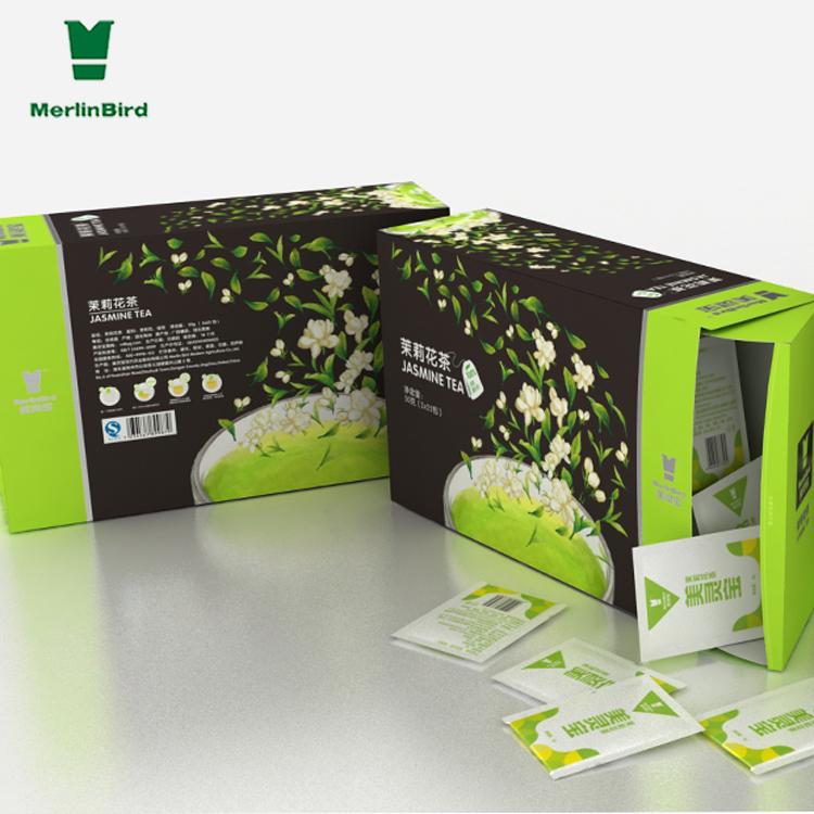 OEM string disposable hot seal filer paper jasmine green tea bags for trip - 4uTea | 4uTea.com