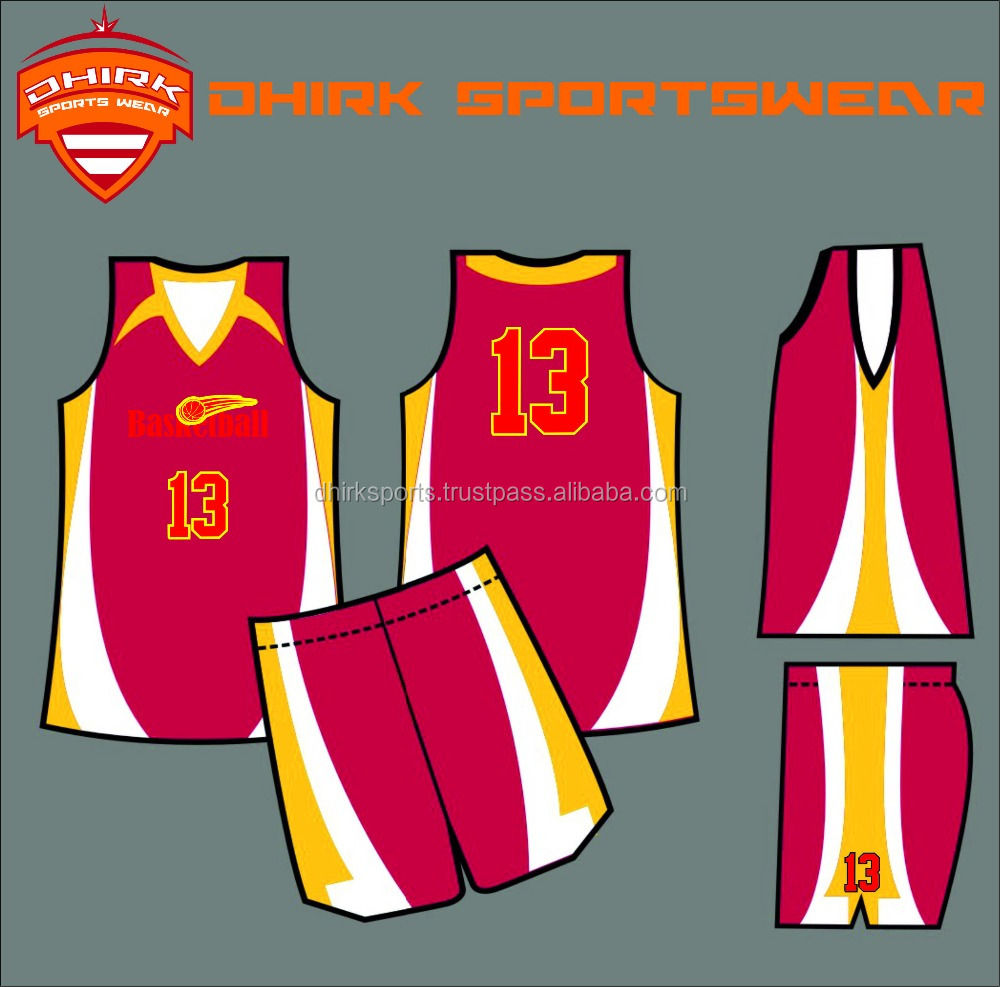 Top Quality Sublimation basketball Uniforms/ Sublimated basketball Jerseys