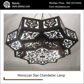 Star shaped handcrafted wire chandelier lamplighting chandelier star shaped handcrafted wire chandelier lamplighting chandelier aloadofball Image collections
