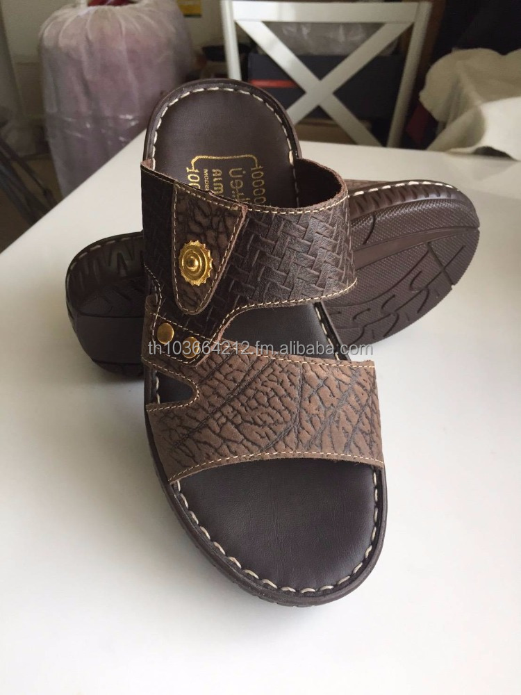 8be1efae89ce Sell Stock Arabic Men Sandal Nubuck Leather With Pu.outsole - Buy ...