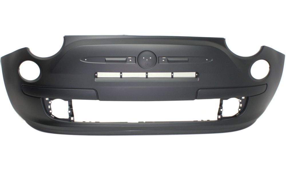New Evan-Fischer EVA178052815359 Front BUMPER COVER Primed Direct Fit OE REPLACEMENT for 2012-2015 Fiat 500 *Replaces Partslink FI1000100