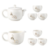 Tea Cups Ceramic Kettle Tea Maker Filtering Tea Pot Set