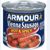 Canned Vienna Sausage - Hot & Spicy