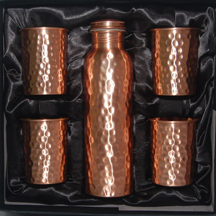 Pure Copper Water Bottle 34oz