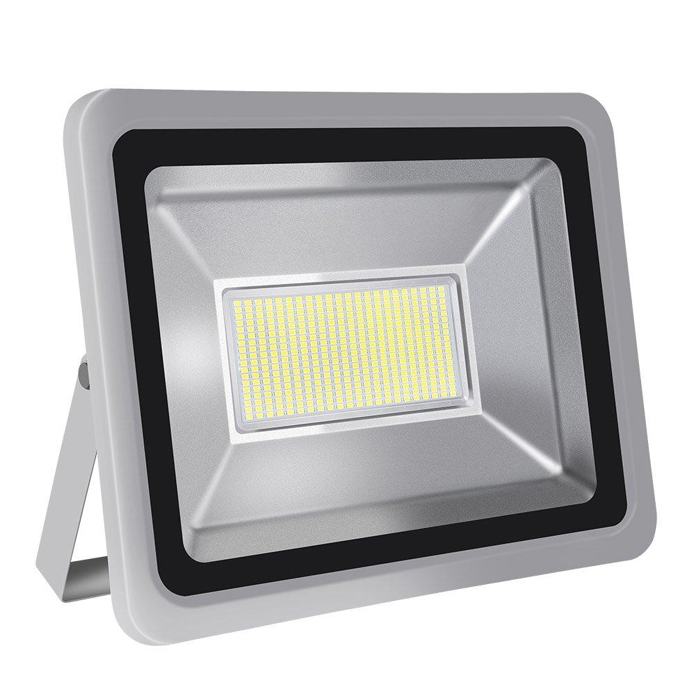 LED Flood Light,CHUNNUAN, 20W 30W 50W 100W 150W 200W 300W 500W ,6000-6500K (Cold White ), IP65 Waterproof ,Aluminium Strahler 110V (200w)