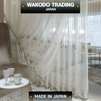 ML7591, Washable Sheer Curtain Fabric, FREE Sample Available