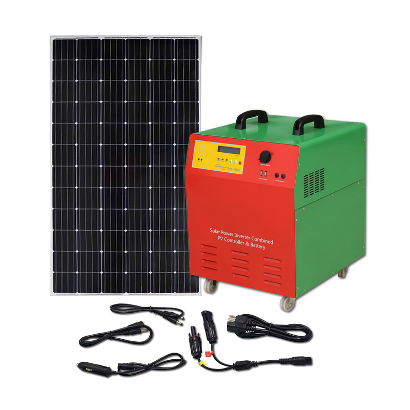 Off Grid Solar Panel Kits System 100w 200w 300w 500w Portable Use For  Fridge Tv Led Light Cell Phone Charge - Buy Off Grid Solar Panel  System,Complete