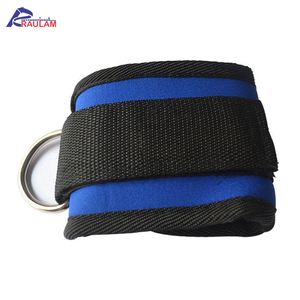 New Custom Design OEM Services Sports Safety Black & Blue Color Ankle Cuff For Adults