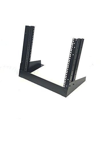 Desktop Rack Mount 12U Network Audio Components Stand Lab Studio Equipment Frame