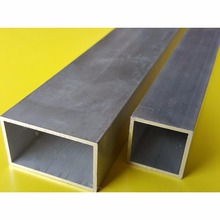 Japan Supplier Al - Mg - Si Alloy A6063T Thin Wall Square Aluminum Tube