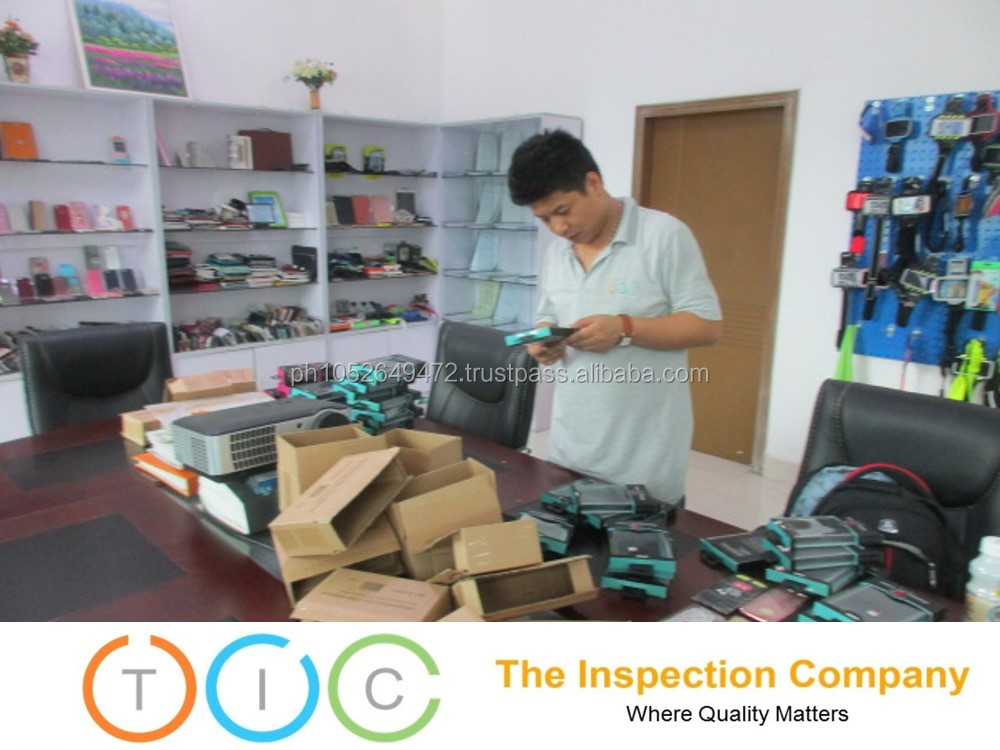 Phone Cases Third Party Inspection in China / Quality Control Services