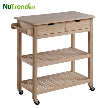Cheap Rubber Wooden Moving Storage Modern Kitchen Trolley With Drawers Buy Kitchen Trolley Kitchen Trolley Prices Kitchen Trolley Cart Product On