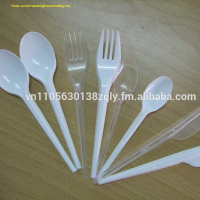 Disposable Plastic Cutlery: Spoons, Knives and ForkS - Made of PP with Very Reasonable Price