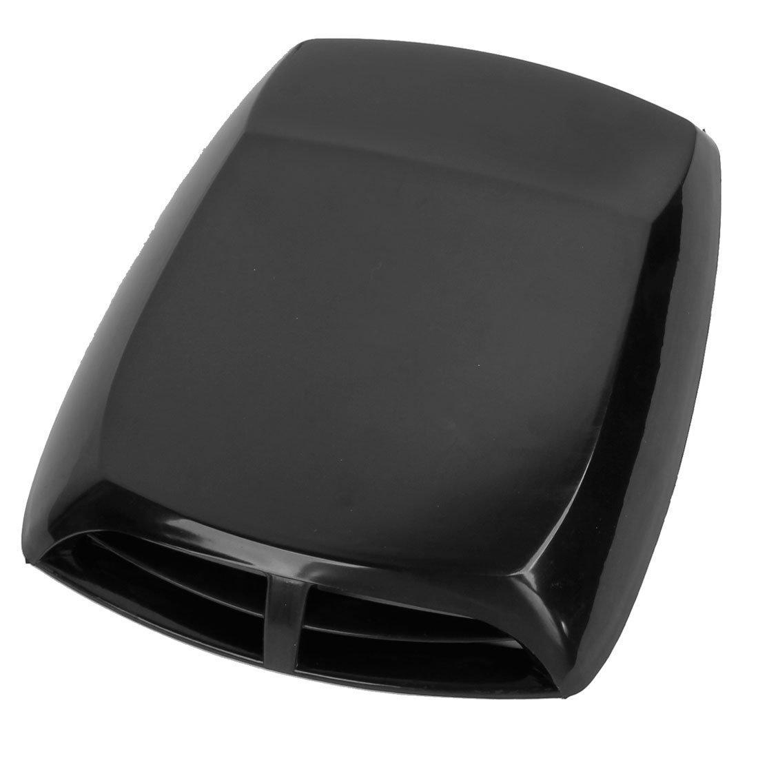 TOOGOO R Car Hood Scoop Universal Air Flow Vent Black with Mesh