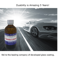 Car Nano Glass Coat made in Japan Glass Coat ceramic crystal Hydrophobic for Car Body