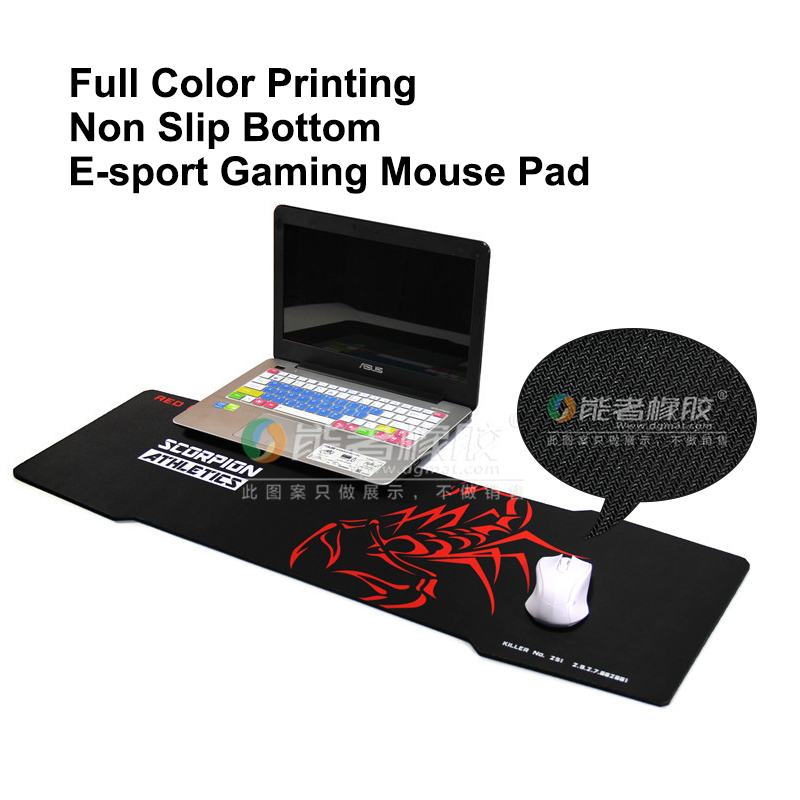 Computer Game Gaming Mice Mouse Pad with large anime