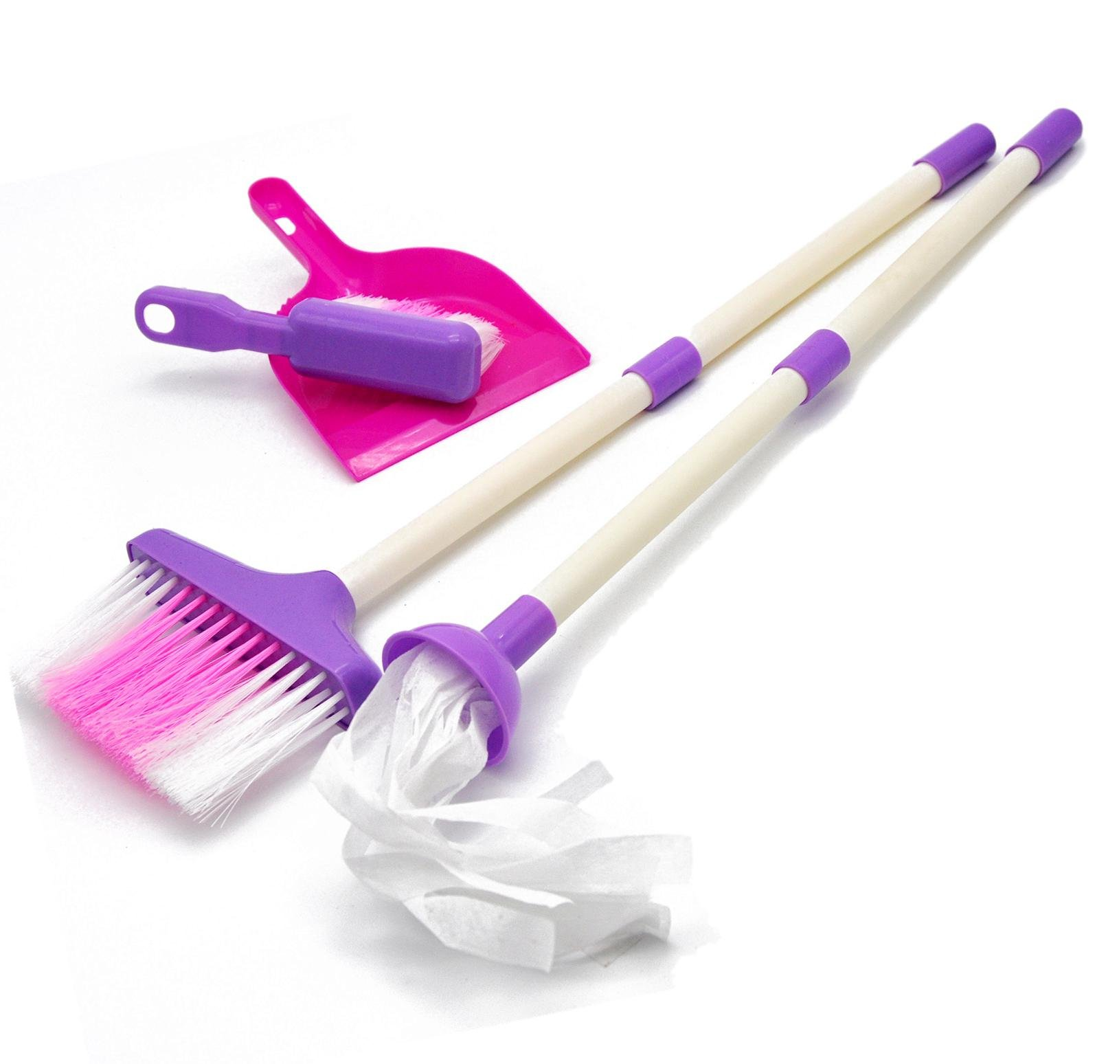 Little Treasures Mommy's Little Helper Toy Mini Sized Cleaning Play Set