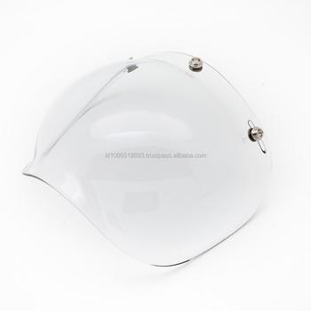 47cbd963e6a31 Boulter 3 botón Universal claro de Visor para Moto casco de la motocicleta