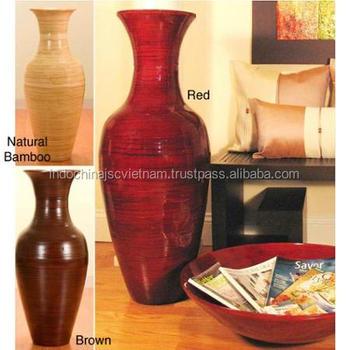 Unique Lacquer Bamboo Vase Wholesale Hot Designed Bamboo Vase Buy