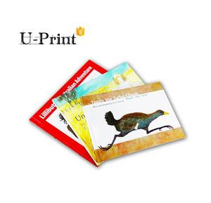 bulk english story colorful board book, chinese children books printing