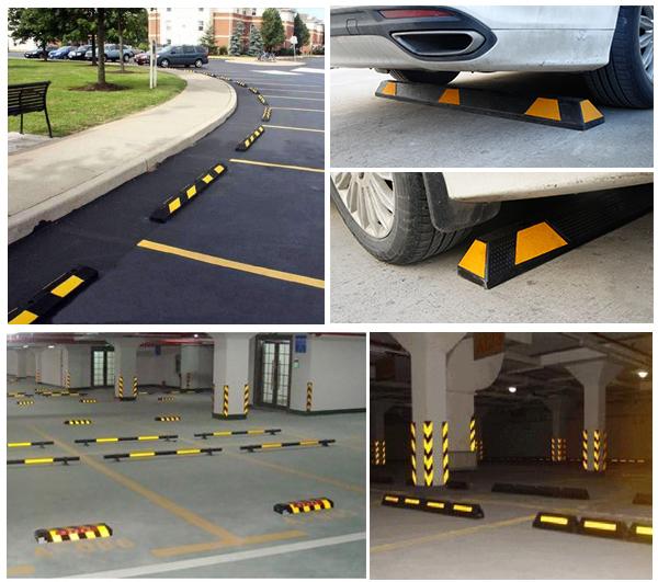 Сверхмощный гибкие резиновые парковка пробки автомобильные пробки