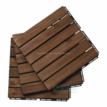 Interlocking Wooden Floor Tiles