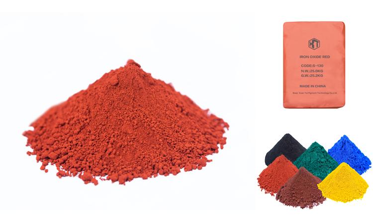 Sắt oxit đỏ số lượng lớn màu đỏ H101 110 120 130 bột màu2