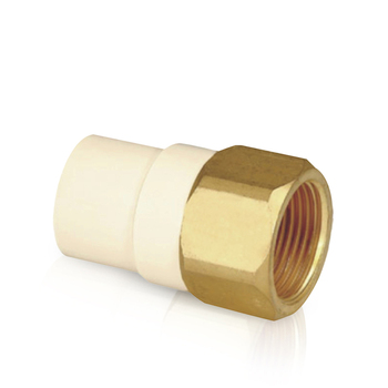 astm d2846 cpvc pipe fittings pvc female threaded adaptor with brass