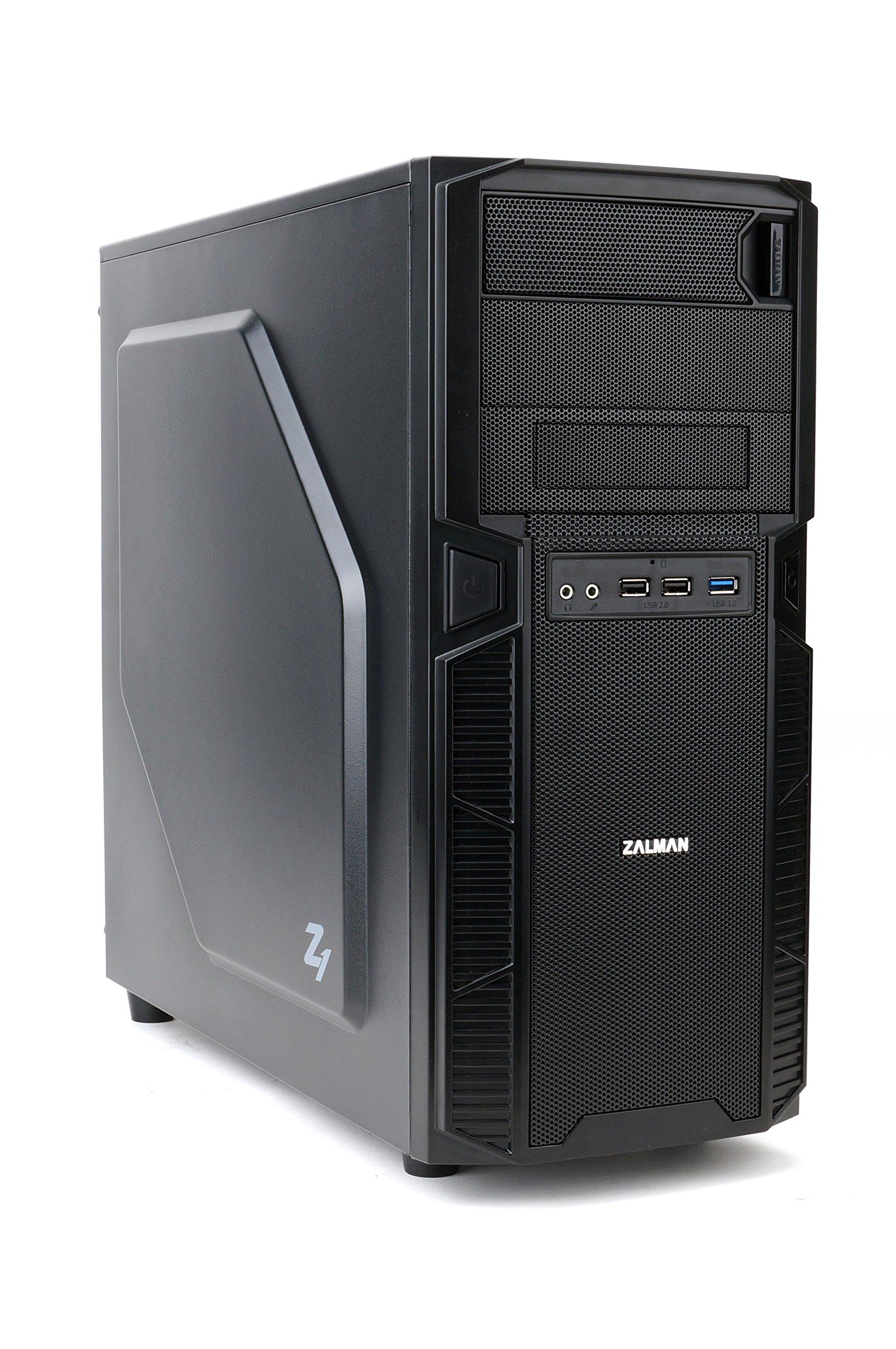Zalman Z9 U3 ATX Mid Tower Computer Case (Black)