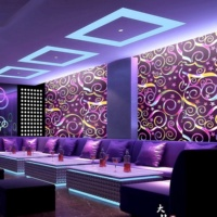 3D Glitter Wallpaper Wall Decoration