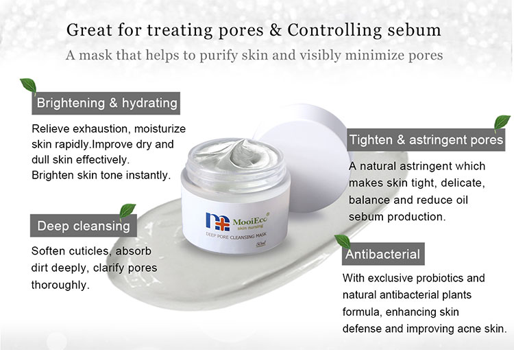 Probiotics Beauty facial care mask for sensitive skin